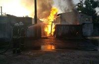В Ірпені сьогодні вранці згоріла заправка