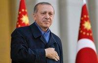 Эрдоган вступил в должность президента Турции