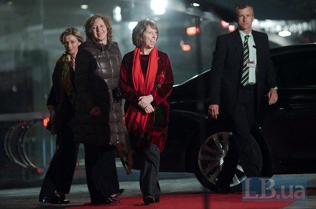 Верховный представитель ЕС по вопросам совместной внешней политики и политики безопасности Кэтрин Эштон