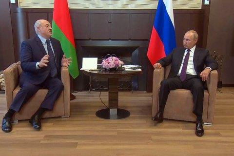 Лукашенко знову поїхав до Росії на зустріч із Путіним