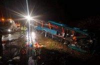 В Словакии школьный автобус столкнулся с грузовиком, 12 погибших