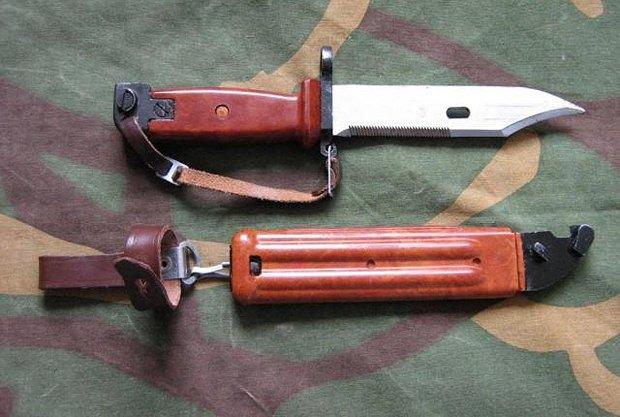 Тот самый штык-нож еще советских времен