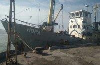 Пограничники задержали российское рыболовецкое судно в Азовском море