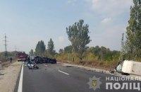 Под Запорожьем столкнулись Fiat и ВАЗ: двое людей погибли, еще двое пострадали