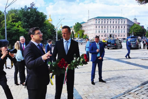 Глава МИД Венгрии прибыл в Киев