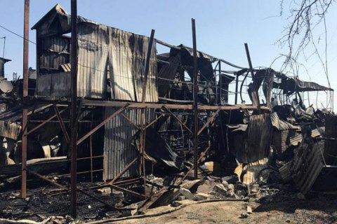 Причиной пожаров в одесских дачных домах признали поджог