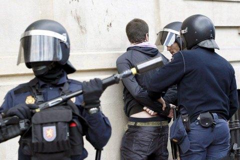 В Мадриде мужчина взял заложников при ограблении банка