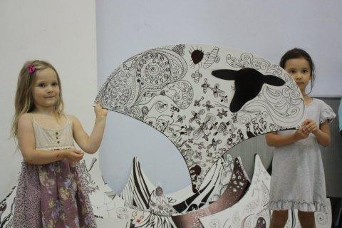 """Інсталяція """"Вівці. Свобода!"""" зникла з художнього музею в Києві"""