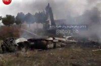 В Ірані розбився вантажний літак, що летів з Киргизстану