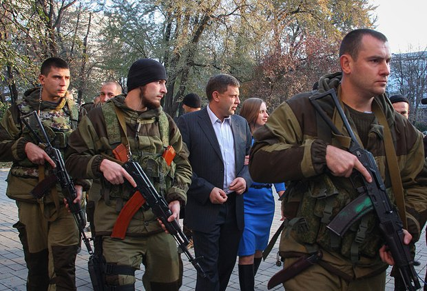 <<Глава ДНР>> Алексанлр Захарченко - в штатском