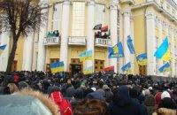 Міліція затримала одного з учасників штурму Вінницької ОДА