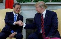 Президент Південної Кореї закликав Трампа провести третій саміт США-КНДР