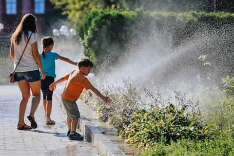 Спека в Києві сягне +33 градусів