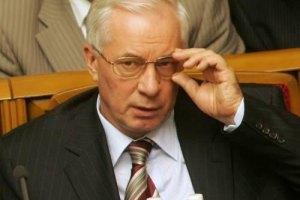Азаров планирует продавать зерно в Иорданию