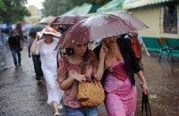 Синоптики обещают дождливую неделю
