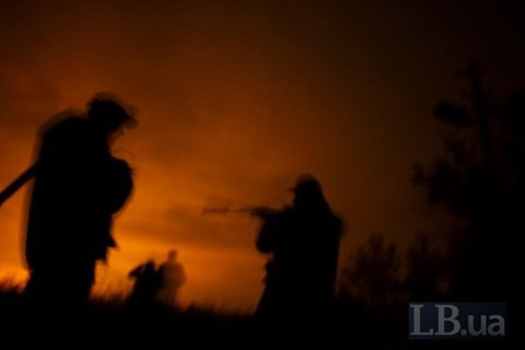"""Оккупанты восемь раз нарушили """"тишину"""" на Донбассе, ранен украинский боец"""