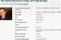 МВД объявило в розыск сына Януковича
