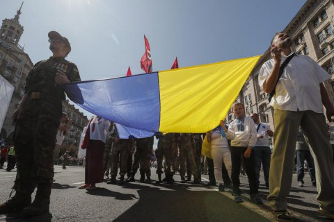 Мировые лидеры поздравили Украину с 29-й годовщиной Независимости
