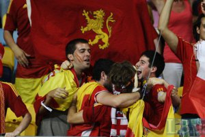 Испания последний раз проигрывала дома в 2003-м году