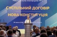 Тимошенко: після президентських виборів має бути прийнята нова Конституція