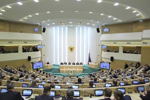 Рада Федерації голосувала за введення військ у Крим без кворуму