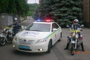 Донецкие гаишники гоняют по городу, нарушая все правила