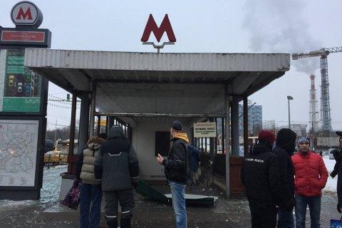 У переході метро в Москві вибухнув газовий балон