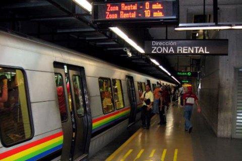 Метро вКаракасе стало бесплатным из-за нехватки бумаги для билетов