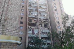 Власти Луганска предоставят временное жилье людям из взорвавшегося дома