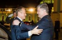 Порошенко провел переговоры с Туском