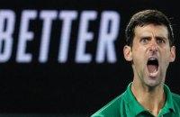 Джокович у фіналі Australian Open агресивно поплескав суддю по нозі