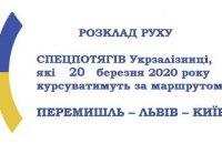 Посольство Украины в Польше обнародовало список спецпоездов для эвакуации украинцев