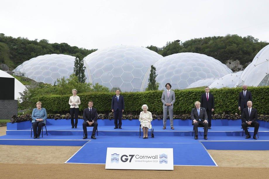 Встреча Большой семерки в Корнуолле