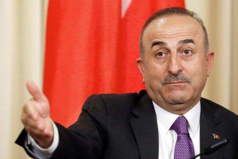 Туреччина ніколи не визнає анексію Криму, - глава МЗС