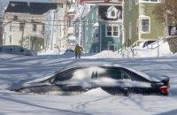 Канаду накрыл сильнейший за 20 лет снегопад
