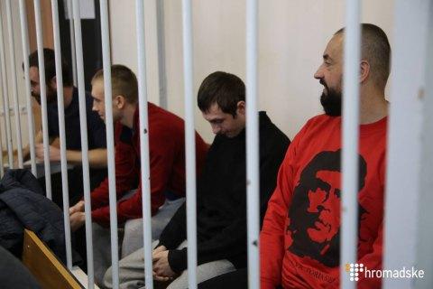 Московский суд продлил на три месяца арест украинских моряков