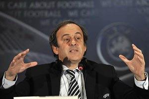 Платіні вирішив замінити Блаттера на посту керівника ФІФА