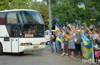 Николаевские десантники в полном составе вернулись домой