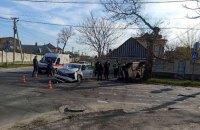 5 человек пострадали в результате столкновения патрульного автомобиля с ВАЗом в Херсоне