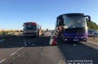 В Кировоградской области столкнулись два автобуса, два человека погибли