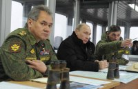 Россия внезапно начала проверку боеготовности войск и флота рядом с украинской границ і флоту поряд з українським кордоном