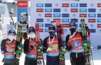 Сборная Украины по биатлону завоевала 3 медали в Кубке мира за сезон, Норвегия - 83