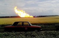 В Полтавской области произошел взрыв на магистральном газопроводе (обновлено)