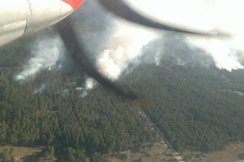 Лісову пожежу в Херсонській області локалізовано