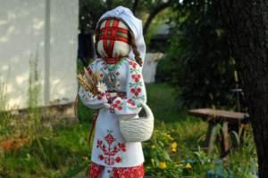 В Тернопольской области создали гигантскую куклу-мотанку