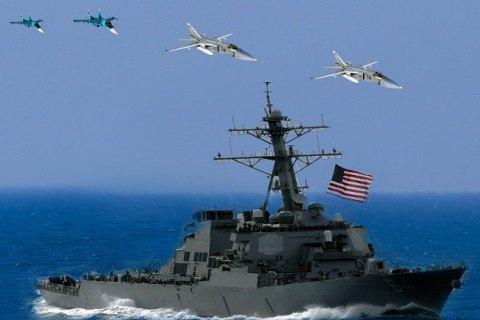 Россия сымитировала атаку на американский эсминец в Черном море