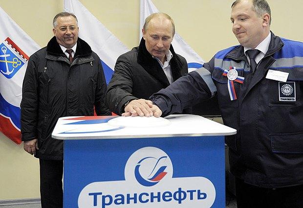 Путін урочисто запускає термінал Балтійської трубопровідної системи у 2012