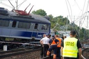 При аварии поезда в Польше пострадали более 80 человек