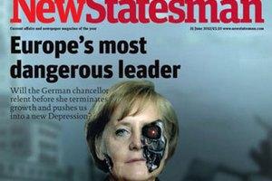 Меркель назвали опаснейшим европейским лидером