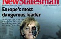 Меркель назвали найнебезпечнішим європейським лідером